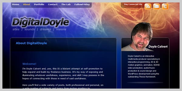 Digital Doyle - design