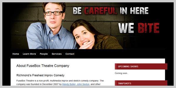 FuseBox Theatre Company - design