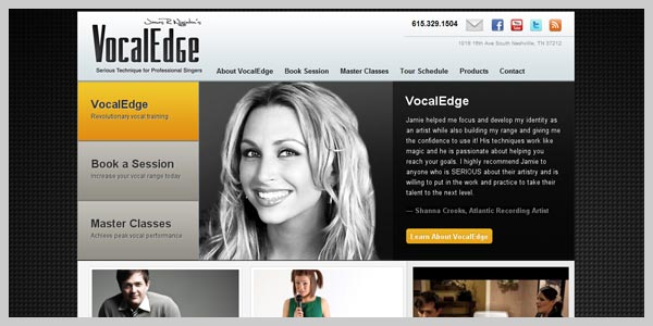 Vocal Edge - design
