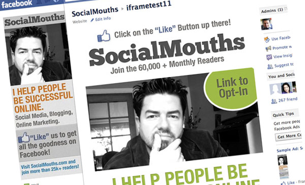 How To Build A Facebook Landing Page With iFrames