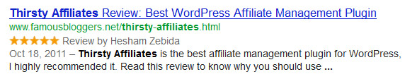 review search results