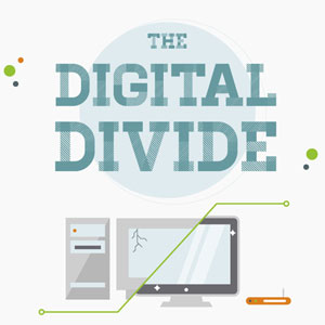 Great Digital Divide Infographic