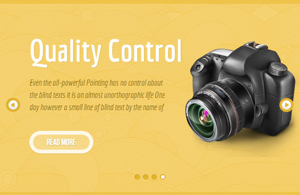 Parallax Content Slider Box for Thesis 2.0