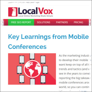 Local Vox Business Blog