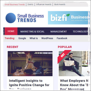 Small Biz Trends Business Blog