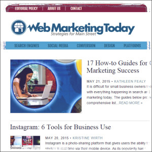 Web Marketing Today Business Blog
