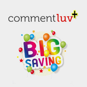 CommentLuv Discount