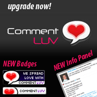 Upgrade CommentLuv