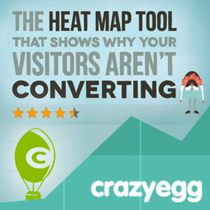 Use @CrazyEgg to See How Your Visitors Engage with Your Website