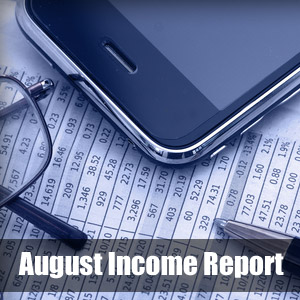 August Earning Report
