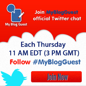 MyBlogGuest Twitter Chat
