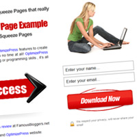 OptimizePress Squeeze Pages Templates