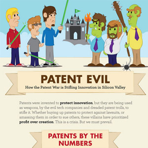 Patent War in Silicon Valley