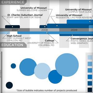 A Passing Trend or the Future? Resume Infographics