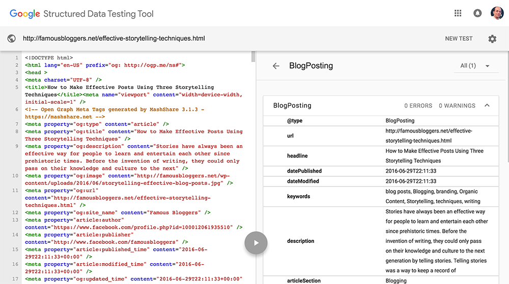schema-plugin-test-google-rich-snippets
