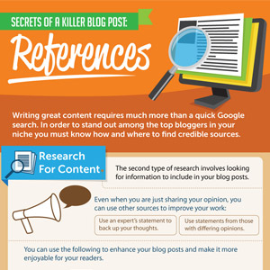 Write a Killer Blog Post by Doing Your Homework!