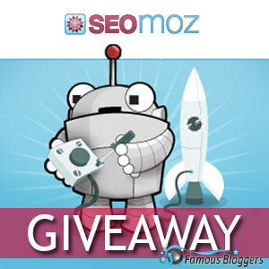 Giveaway: 1 x 1 Year SEO Tools Subscription from SEOmoz ($950 value)