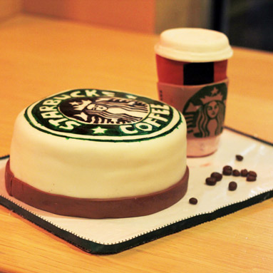 starbucks birthday cake coffee addict starbucks cake want some 7684