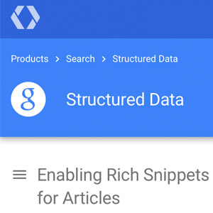 Add Structured Data Markup for Articles to your WordPress Blog