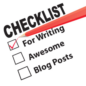 Writing Awesome Blog Posts